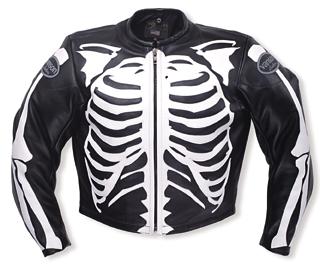 60e9516b9 Bones Flat-Track Motorcycle Leather Jacket