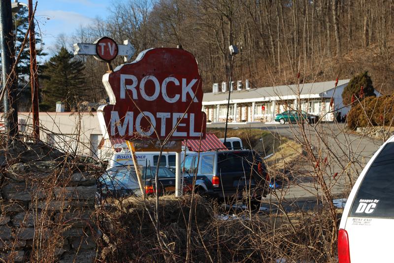 Welcome to Gloversville Rock Motel!