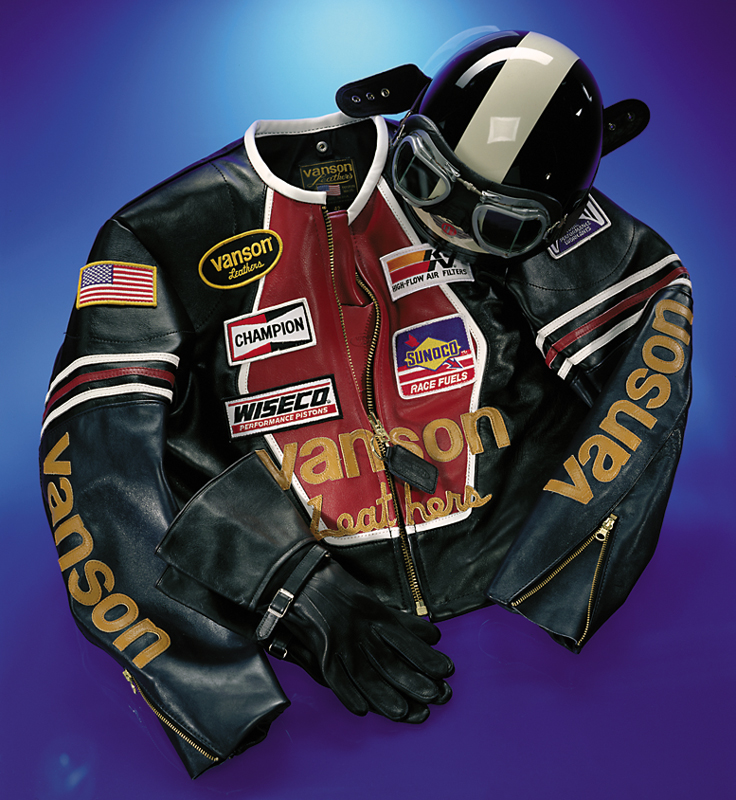 Vanson's Star leather jacket
