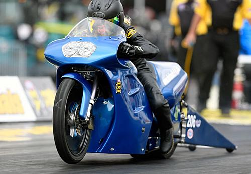 Andie Rowlings - Vanson Sponsored Racer