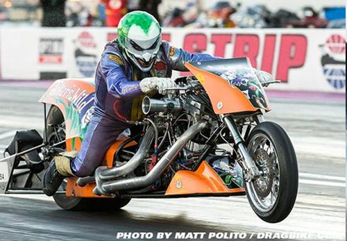 Andy Beauhemin - Vanson Sponsored Racer