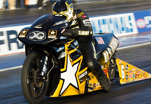 Antron Brown - Former Vanson Sponsored Racer