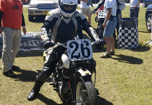 Art Farley - Former Vanson Sponsored Racer