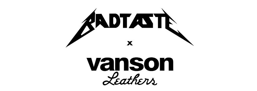 BadTaste and Vanson Custom Tee Shirt Designs
