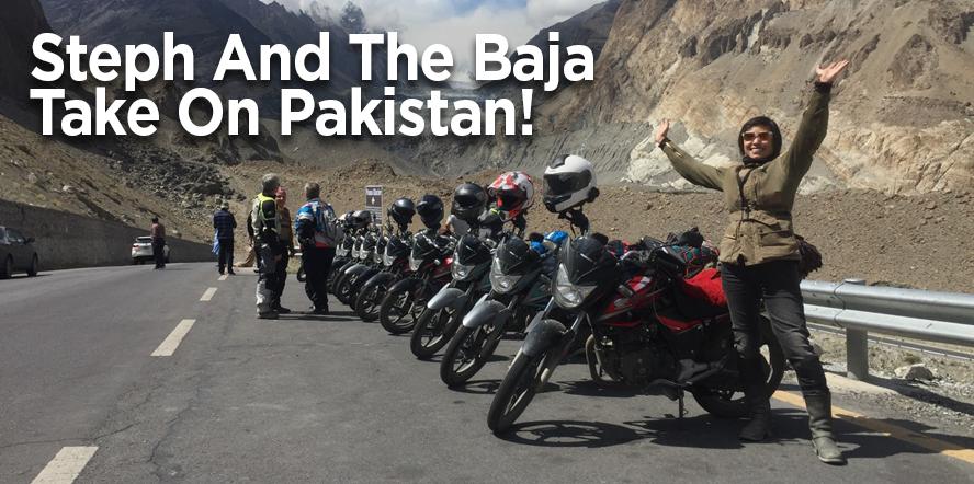Steph and the Baja take on Pakistan