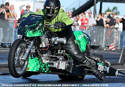 Billy Jackson - Vanson Sponsored Racer