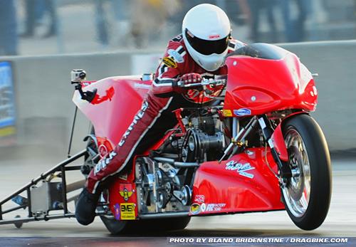 Chris Hand - Vanson Sponsored Racer