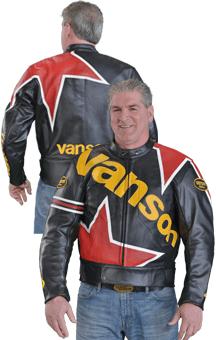 Vanson's Cobra MK2 Star leahter jacket