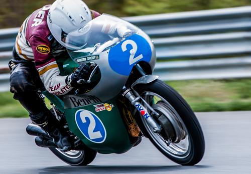 Dave Roper - Vanson Sponsored Racer