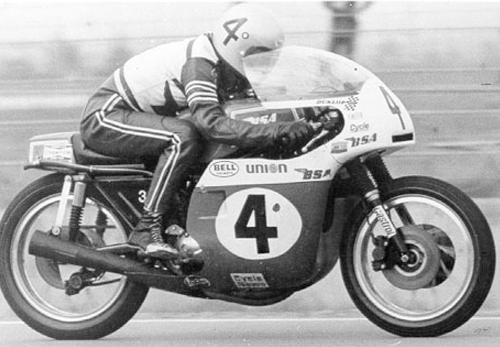 Dick Mann - Former Vanson Sponsored Racer