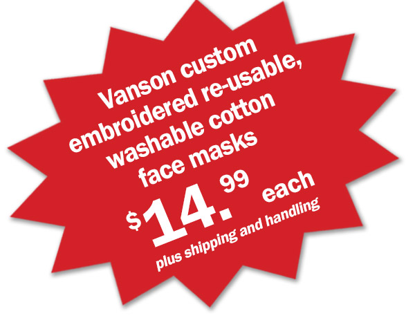 Star burst of embroidered face mask prices