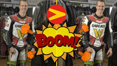 Eric Wood and Matt Silva Discuss the features of Vanson' Air-Pro air bag suit