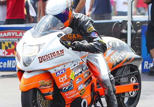 Jason Dunigan - Vanson Sponsored Racer