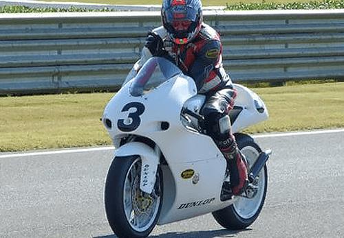 Jerry Wood - Vanson Sponsored Racer