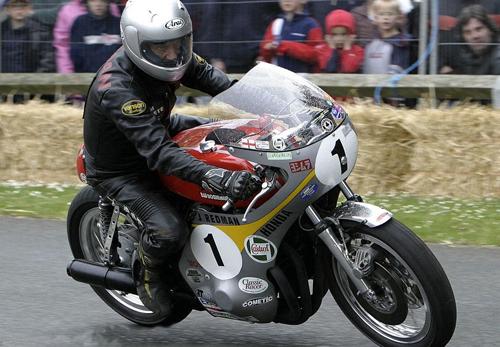 Jim Redmand - Former Vanson Sponsored Racer
