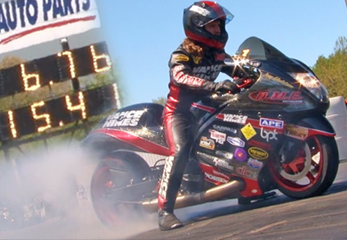 Joey Gladstone - Vanson Sponsored Racer