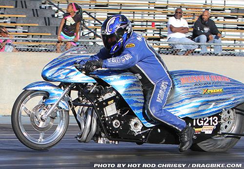 John Markham - Vanson Sponsored Racer