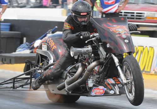 Michael Pelrine - Vanson Sponsored Racer
