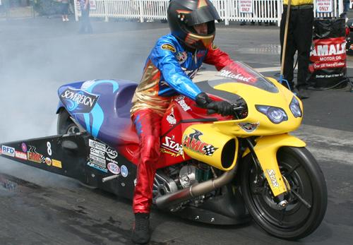 Michael Ray - Vanson Sponsored Racer