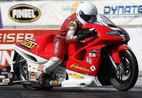 Paul Gast - Vanson Sponsored Racer