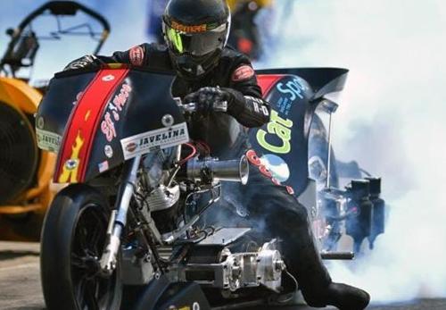 Rickey House - Vanson Sponsored Racer