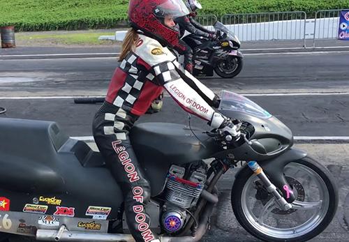 Robin Procopio - Vanson Sponsored Racer