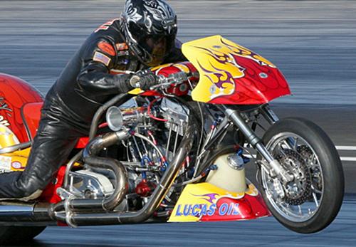 Ron Gledhill - Vanson Sponsored Racer