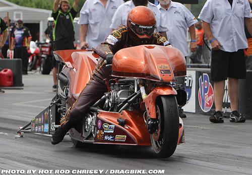 Sam Wells - Vanson Sponsored Racer