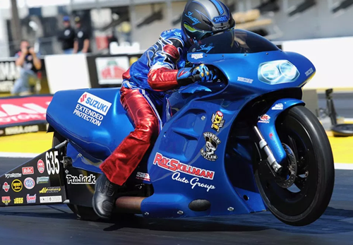 Scott Pollacheck - Vanson Sponsored Racer