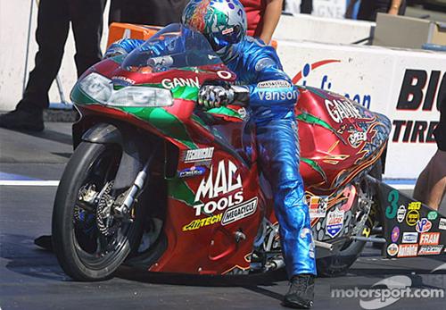 Shawn Gann - Vanson Sponsored Racer