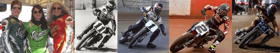 Vanson Star-dirt-racing-collage