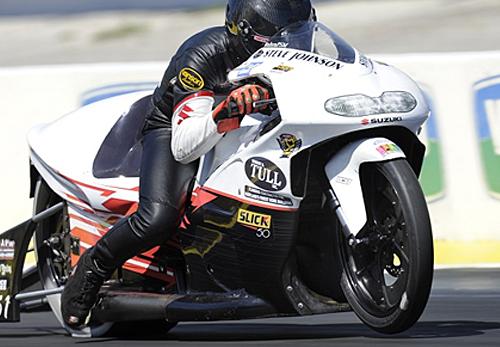 Steve Johnson - Vanson Sponsored Racer