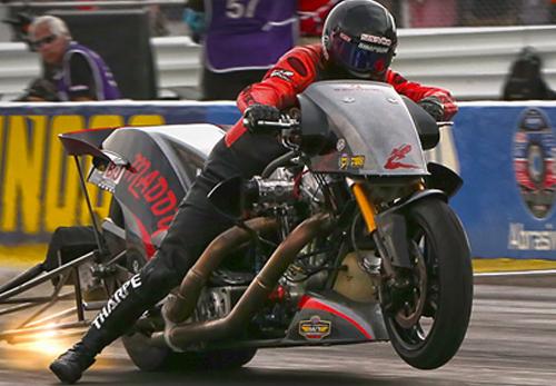 Tii Tharpe - Vanson Sponsored Racer