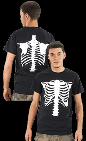 Vanson's short sleeve bones tee