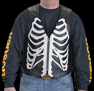 Vanson's Bones vest