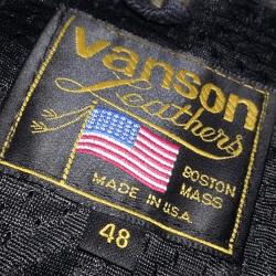 Vanson U.S.A. tag