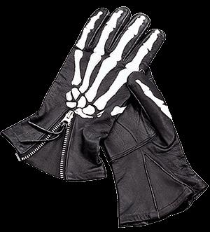 vanson-xray-bones-gloves